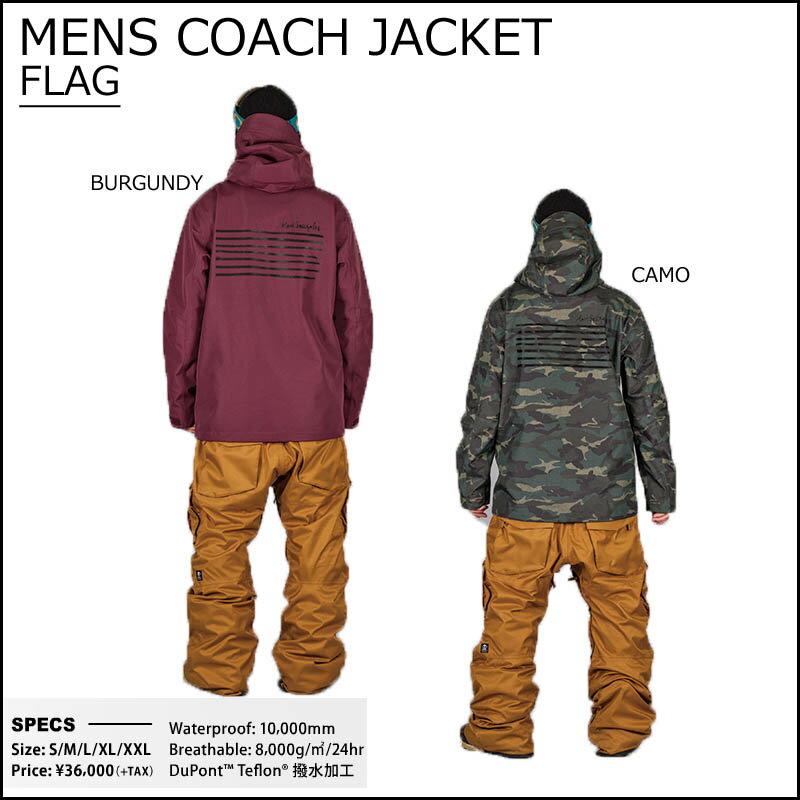 16-17 SCAPE ウェア エスケープ メンズ COACH JACKET ジャケット コーチジャケット スノーボードウェア 2016-2017