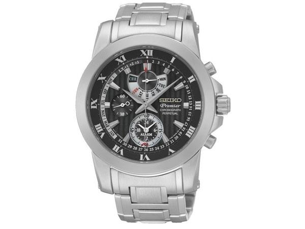 セイコー SEIKO クロノグラフ アラーム パーペチュアルカレンダー メンズ 腕時計 SPC161P1