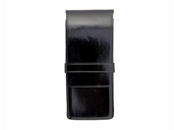 Il Bussetto イルブセット ペンケース 3本差し 7815106 ブラック