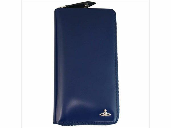 ヴィヴィアン ウエストウッド Vivienne Westwood 長財布 メンズ 33.350 ブルー/グリーン