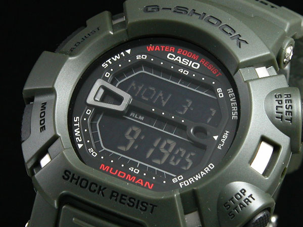 カシオ CASIO Gショック G-SHOCK 逆輸入 マッドマン デジタル メンズ 腕時計 G-9000-3 メンズ