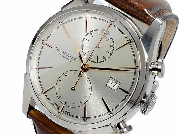 贅沢 ハミルトン HAMILTON スピリットオブリバティ Spirit of Liberty 自動巻き メンズ クロノグラフ 腕時計 H32416581