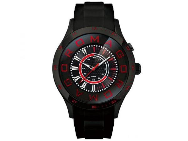 ロマゴ デザイン ROMAGO DESIGN 腕時計 メンズ レディース ユニセックス RM015-0235PL-BK