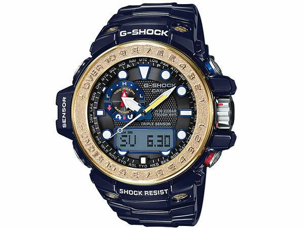 カシオ CASIO Gショック G-SHOCK ガルフマスター 電波 ソーラー アナデジ 腕時計 GWN-1000F-2A
