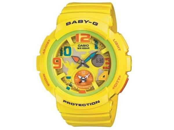 カシオ CASIO ベビーG BABY-G 腕時計 BGA-190-9B レディース イエロー