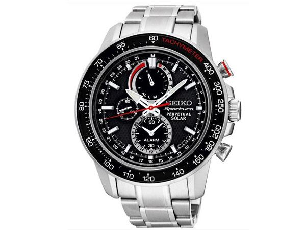 セイコー SEIKO スポーチュラ 逆輸入 ソーラー パーぺチュアル メンズ 腕時計 SSC357P1