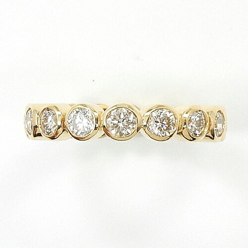 1.5ctフセコミ フルエタニティ 11.5号サイズ18金ゴールド ダイヤモンド リング1.5カラット typeAAAA