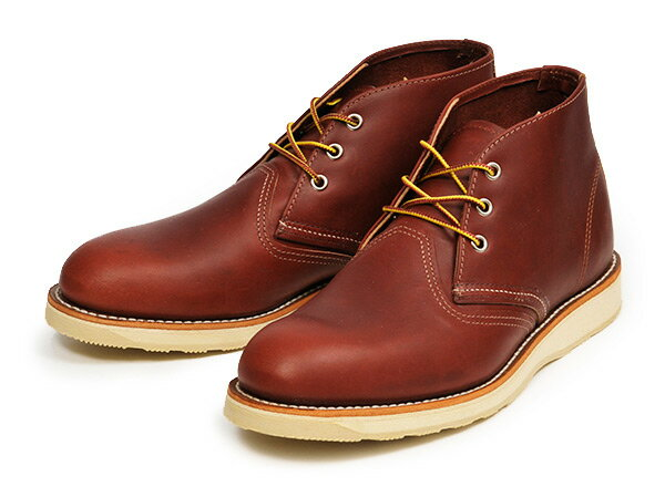 【RED WING】 レッドウィング CLASSIC CHUKKA クラシック チャッカ 3139 ABC-MART限定 RED BROWN
