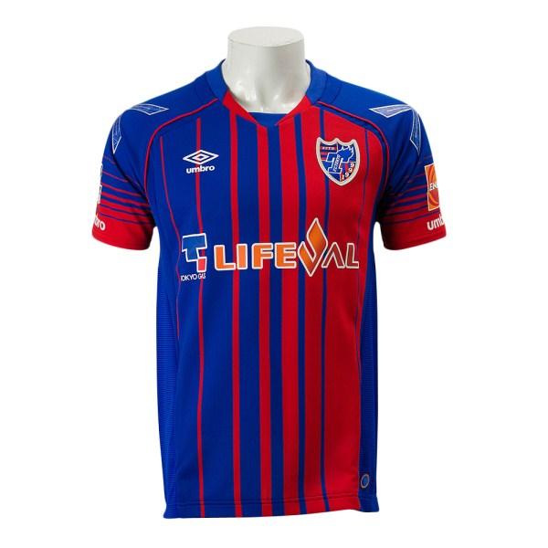 【UMBROウェア】 アンブロ 2017 FC東京 ホーム オーセンティック 半袖 ユニフォーム UDS6719HSP WSP BLUE/RED