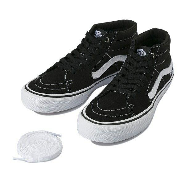 【VANS】 ヴァンズ SK8-MID PRO スケートミッド プロ VN0A347UY28 17FA BLACK/WHITE