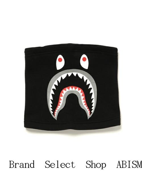 【代引き不可】A BATHING APE(エイプ)SHARK SWEAT NECK WARMER(シャークネックウォーマー)【ブラック】【新品】BAPE(ベイプ)
