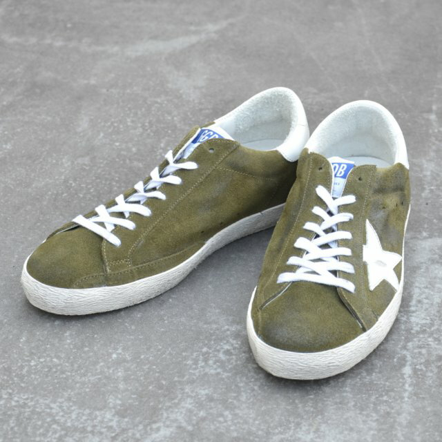 GOLDEN GOOSE(ゴールデングース)/ SNEAKER SUPER STAR -(B21)OLIVE GREEN SUEDE-