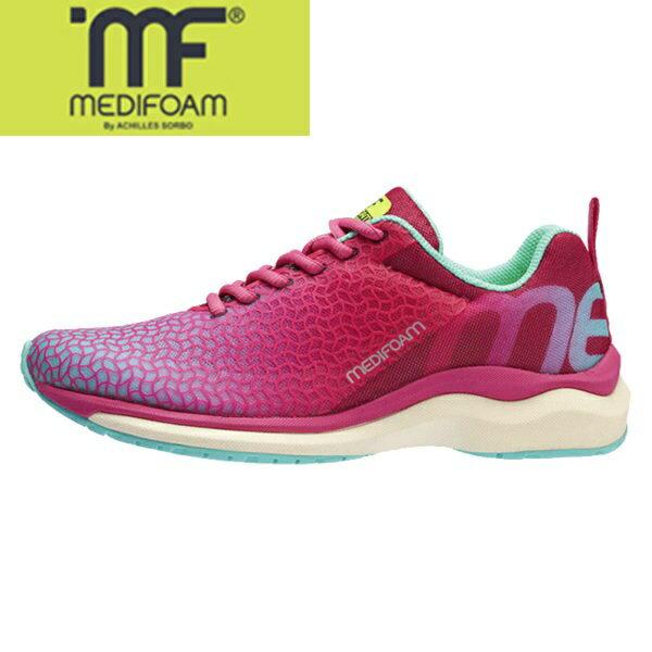 MEDIFOAM/メディフォーム RUNNERS HI MF103 ピンク  [MFR1030]アキレス・ソルボ/メディフォーム/ランニングシューズ レディース/靴/ACHILLES SORBO