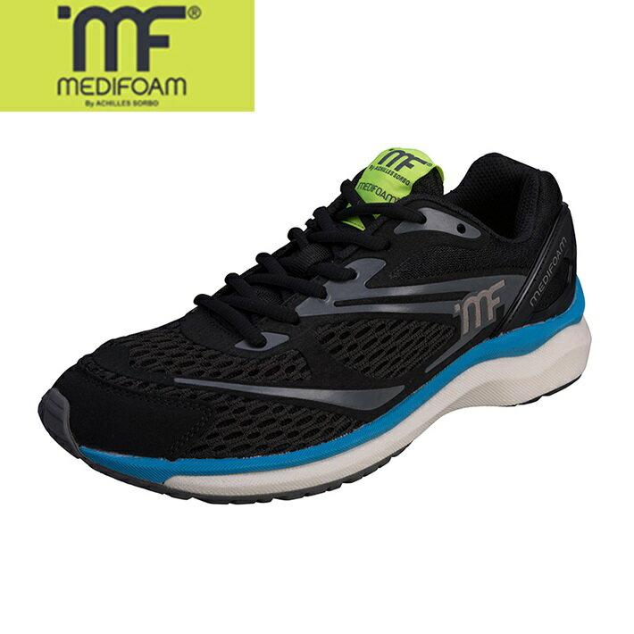 MEDIFOAM/メディフォーム 101 ブラック  [MFR1010]アキレス・ソルボ/メディフォーム メンズ/ランニングシューズ/靴/ACHILLES SORBO