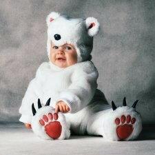 ハロウィン プレゼント トム・アーマ しろくまさん 赤ちゃん用 コスチューム