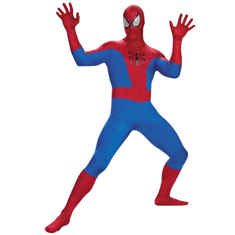 ハロウィン スパイダーマン コスプレ 衣装 スパイダーマン コスチューム エリート大人用コスチューム 大きいサイズ