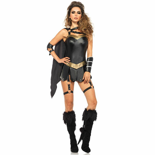 戦士 コスチューム セクシー 武士 衣装 大人 女性用 コスプレ 仮装 ハロウィン