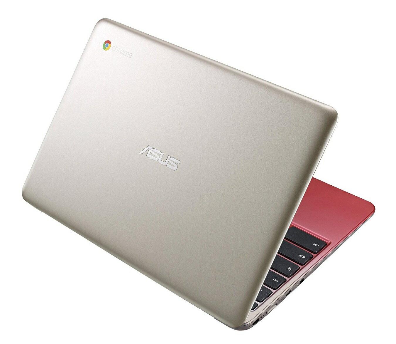 ASUS C201 11.6 Inch Chromebookゴールドレッド (Rockchip, 4GB, 16GB SSD, Gold/Red)並行輸入品