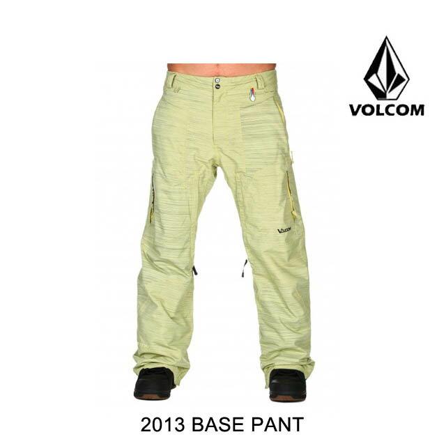 2013 VOLCOM ボルコム パンツ BASE PANT YEL
