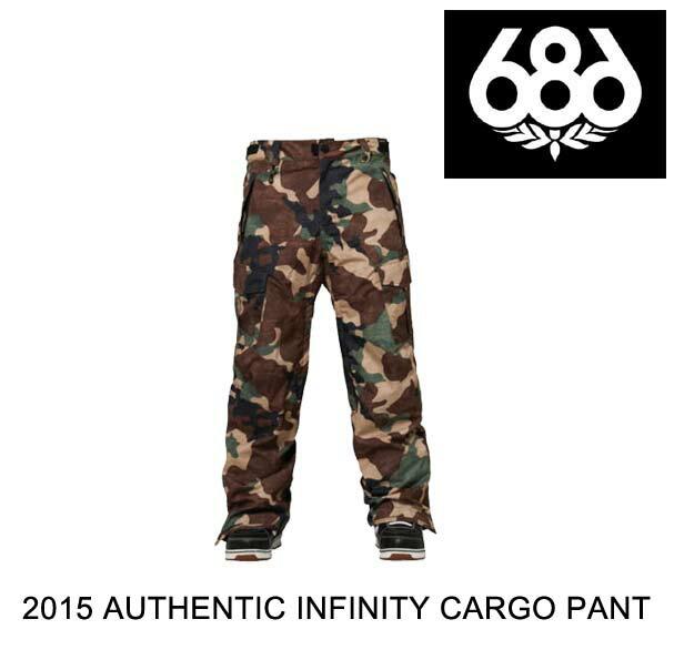 2015 686 シックスエイトシックス パンツ AUTHENTIC INFINITY CARGO PANT HUNTER CANVAS CAMO