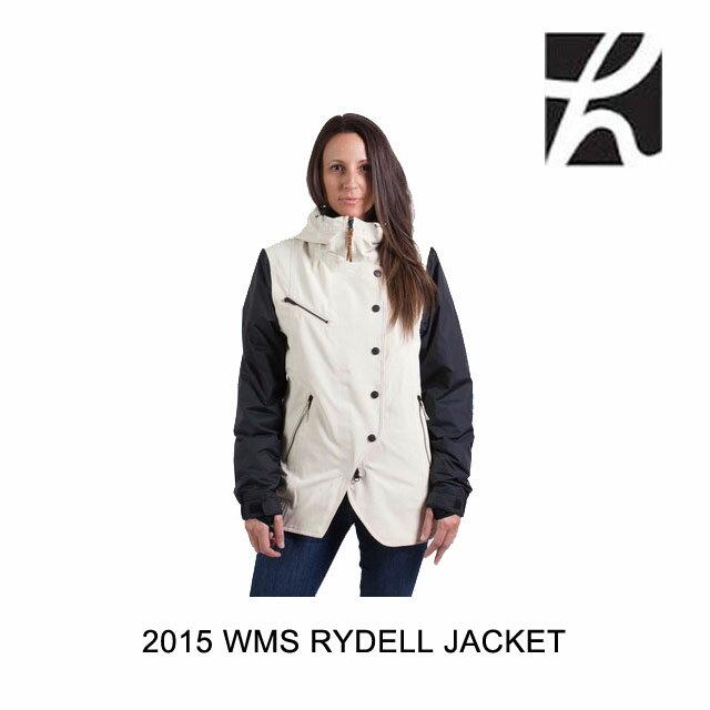 2015 HOLDEN ホールデン ジャケット WOMEN'S RYDELL JACKET BONE BLACK
