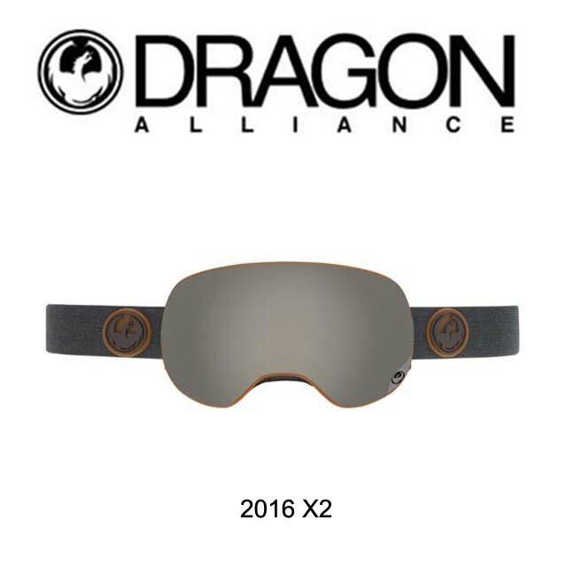 2016 DRAGON ドラゴン ゴーグル GOGGLE X2 GUMM/IONIZED+YELLOW BLUE ION
