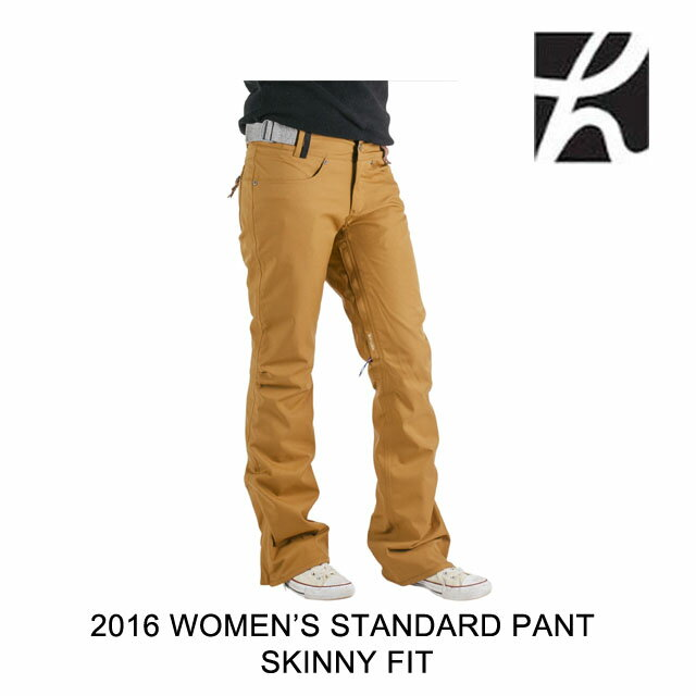 2016 HOLDEN ホールデン パンツ WOMEN'S STANDARD PANT SKINNY FIT CAMEL