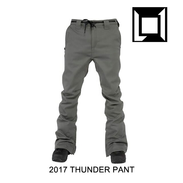 2017 L1 エルワン パンツ THUNDER PANT DARK GREY