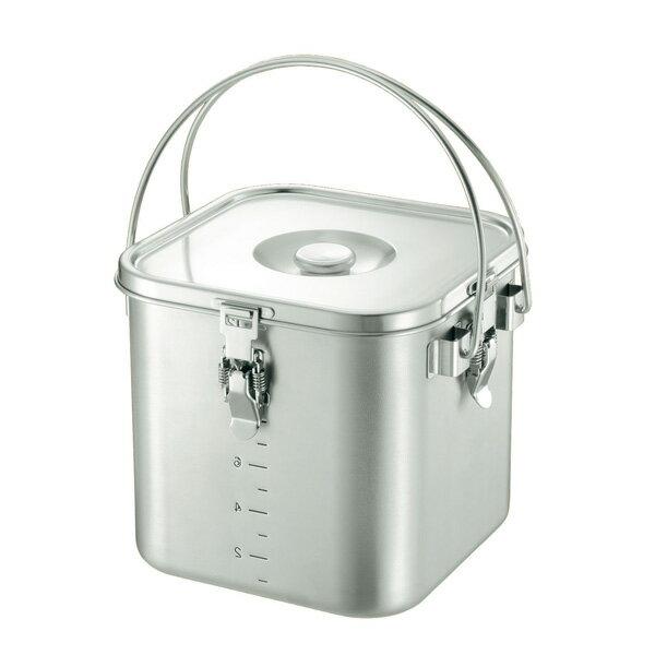 KO 19-0 角型 給食缶 24cm<24cm>【 アドキッチン 】