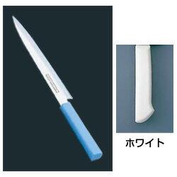 マスターコック 抗菌カラー庖丁 柳刃(片刃) MCYK-270 ホワイト(MCYK-270)<ホワイト>【 アドキッチン 】