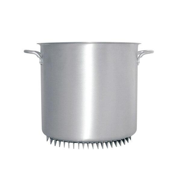 アルミ エコライン寸胴鍋(蓋無) 54cm 【受注生産品の為 約1か月かかります】【 アドキッチン 】