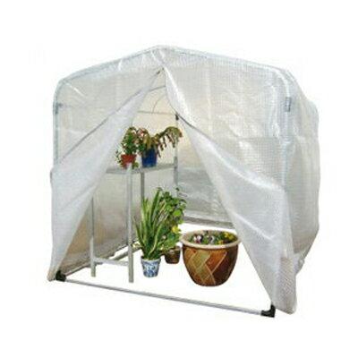 アルミス アルミ フラワー温室 1.0型 1530×2160×1590mm 農業資材 園芸用品 ビニール温室 家庭菜園