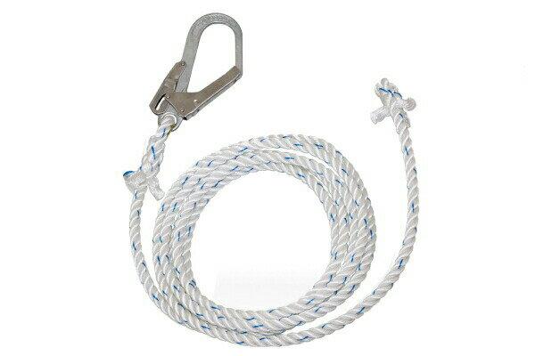 【藤井電工】『母線ロープ』L-100 TSUYORON ツヨロン 100m 親綱 垂直移動専用