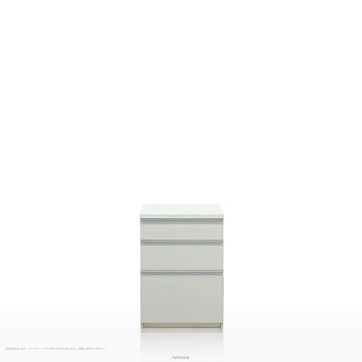 Pamouna(パモウナ) LFシリーズ LF-S600K キッチンカウンター/食器棚の下台 (幅60cm, 奥行き45cm, プレーンホワイト)【送料無料 ※対象地域(本州,九州,四国)】【同梱不可】