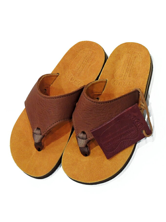 THE SANDALMAN(サンダルマン)/  BEACH WIDE SANDAL/ Col.GOLD/ Made.In.U.S.A訳アリ/特別価格☆