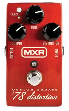 【ポイント2倍】【送料込】【国内正規品】MXR M78/M-78 Custom Badass '78 Distortion ディストーション【smtb-TK】
