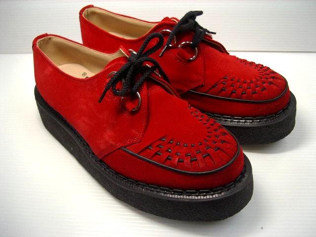 GEORGE COX ジョージコックス 3588   RED SUEDE (BLACK SOLE) 02P26Mar16