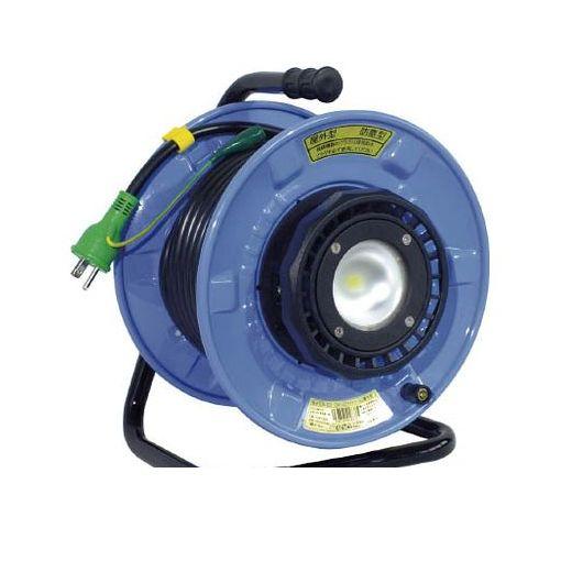 日動工業 [SDWEK2210W] 防雨・防塵型LEDライトリール 486-6258【送料無料】