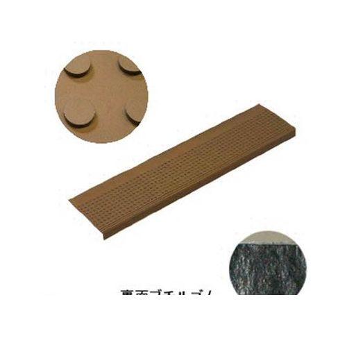 ミヅシマ工業 [490049] 消音マット ステップBT2 粘着型 273×1150mm ブラウン【送料無料】【10セット】 【送料無料】