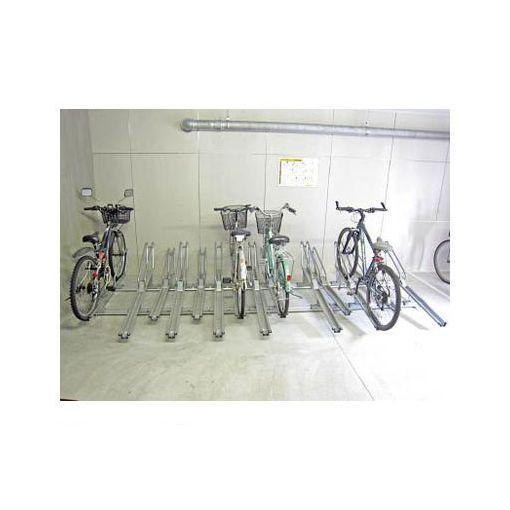ダイケン [SRCR7N] 「直送」【代引不可・他メーカー同梱不可】 自転車ラック スライドラック 連結型 7台用 【送料無料】