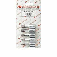 ■PBスイス [V10-210/SET] .3/8SQヘキサゴンビットソケットセット  V10210/SET 【送料無料】