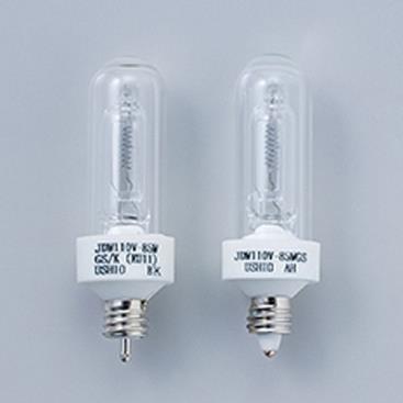 ウシオ 低封入圧二重管型ハロゲンランプ 110V 85W 口金EU11 [10個セット] JDW110V85WGS/K-10SET