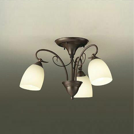 大光電機 LEDシャンデリア ~4.5畳用 白熱電球60W×3灯相当 電球色 DCH-38779Y