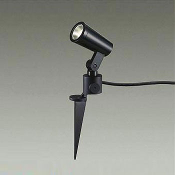 大光電機 LEDエクステリアライト 12Vダイクロハロゲン50W相当 電球色 ブラック DOL-4672YB