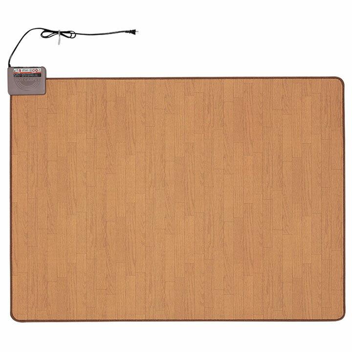 国産 電気カーペット1.5帖 木目 WHC-152KMD送料無料 ホットカーペット ホットマット 1.5畳 暖房 冬 【D】
