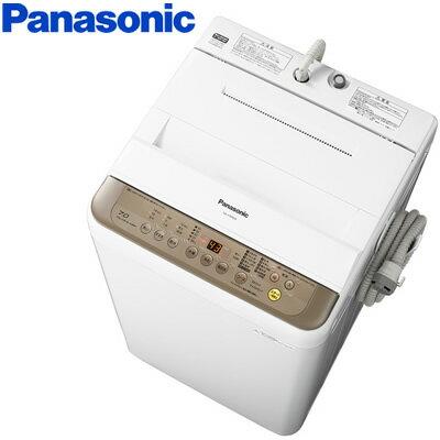 パナソニック 全自動洗濯機 洗濯・脱水容量7kg NA-F70PB10-T ブラウン【送料無料】【KK9N0D18P】