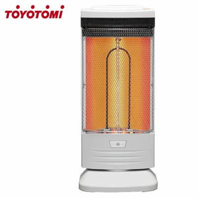 トヨトミ 電気ヒーター 速暖 遠赤外線 カーボンヒーター EWH-CSS100H-W ホワイト 1000W【送料無料】【KK9N0D18P】