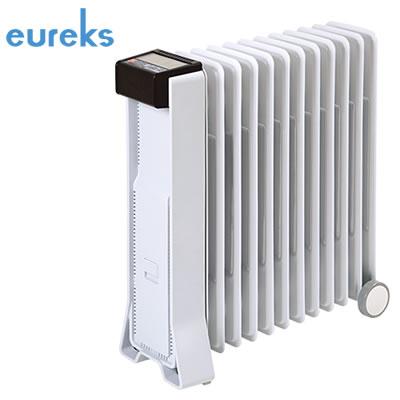 ユーレックス オイルヒーター RFX12EH-IW アイボリーホワイト eureks 1500W 最大10畳用【送料無料】【KK9N0D18P】