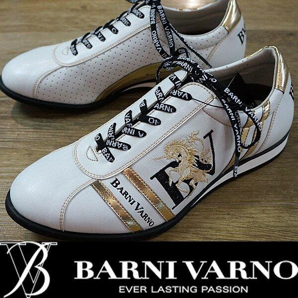 BARNI VARNO・17 SS 新作・スニーカー(24.5)(25)(25.5)(27)(28)BSS-GKS2522-02 バーニヴァーノ