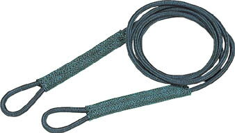 TRUSCO セフティパワーロープ シンブルなし 12mmX3m【物流保管用品】【吊りクランプ・吊りベルト】【ワイヤロープスリング】